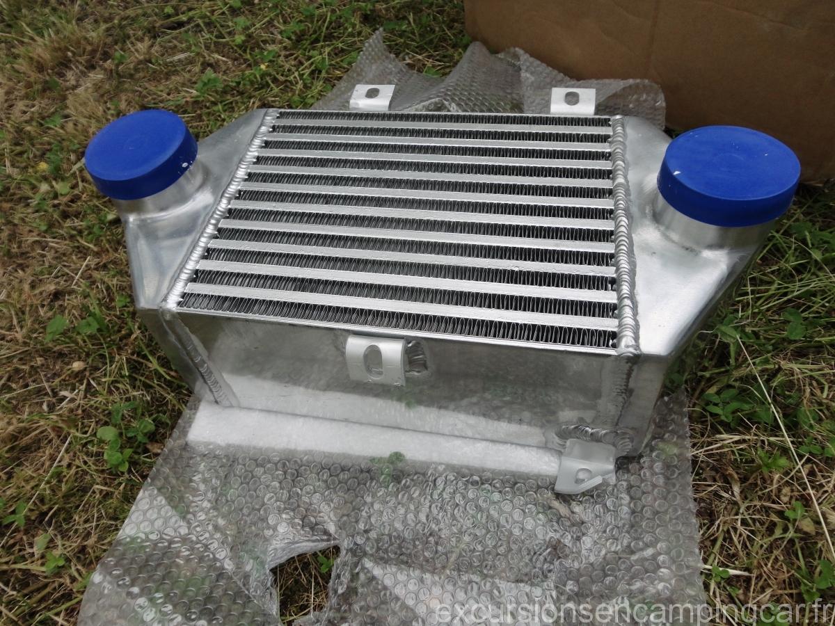 L'intercooler qui va être utilisé pour le camping-car sur porteur C25