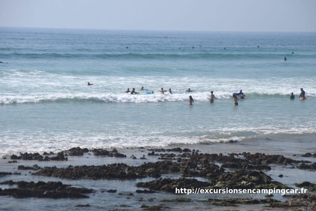 Bout de plage de la en baie d'Audierne