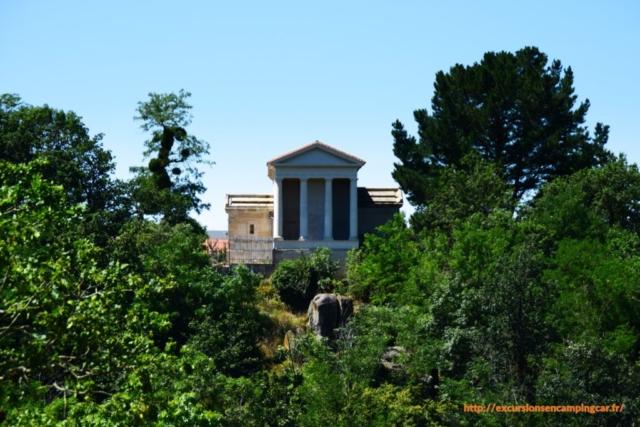 Le temple de l'amitié, La Garenne Lemot