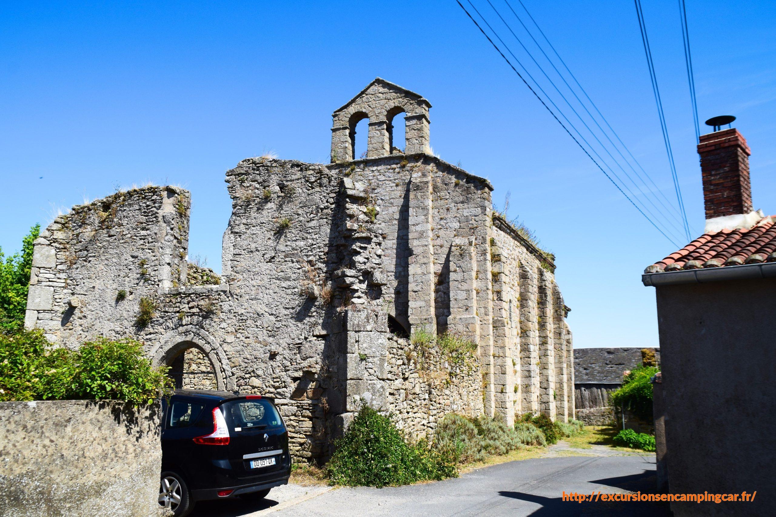 La chapelle des Templiers de Clisson