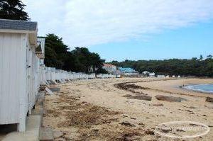 Début de soirée à la plage des Dames de Noirmoutier-en-l'Île
