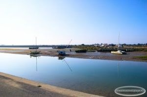 Vue depuis la jetée Jacobsen un matin d'octobre, Noirmoutier-en-l'Île