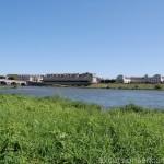 La Loire à Blois avec le pont Jacques Gabriel dans le fond