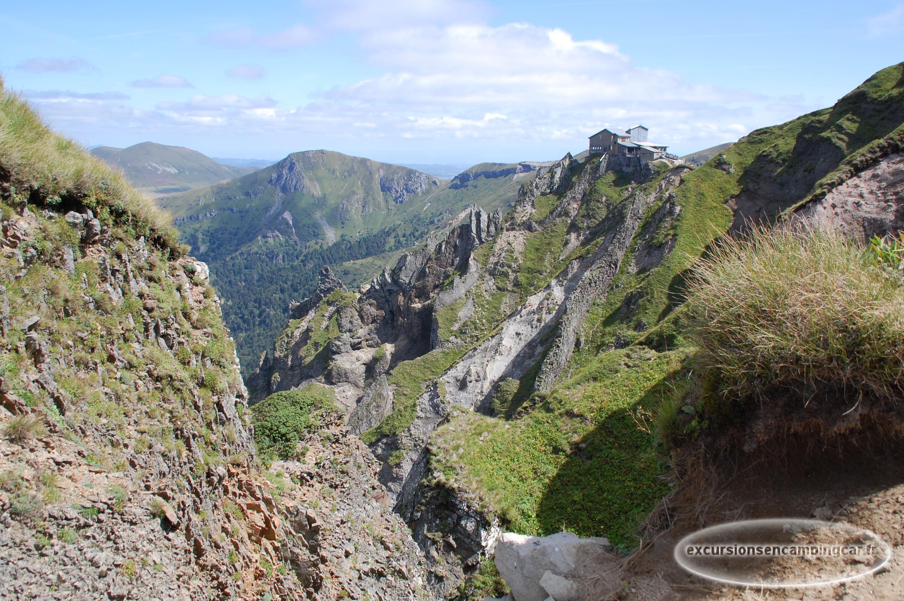 Mont Dore Excursions En Camping Car