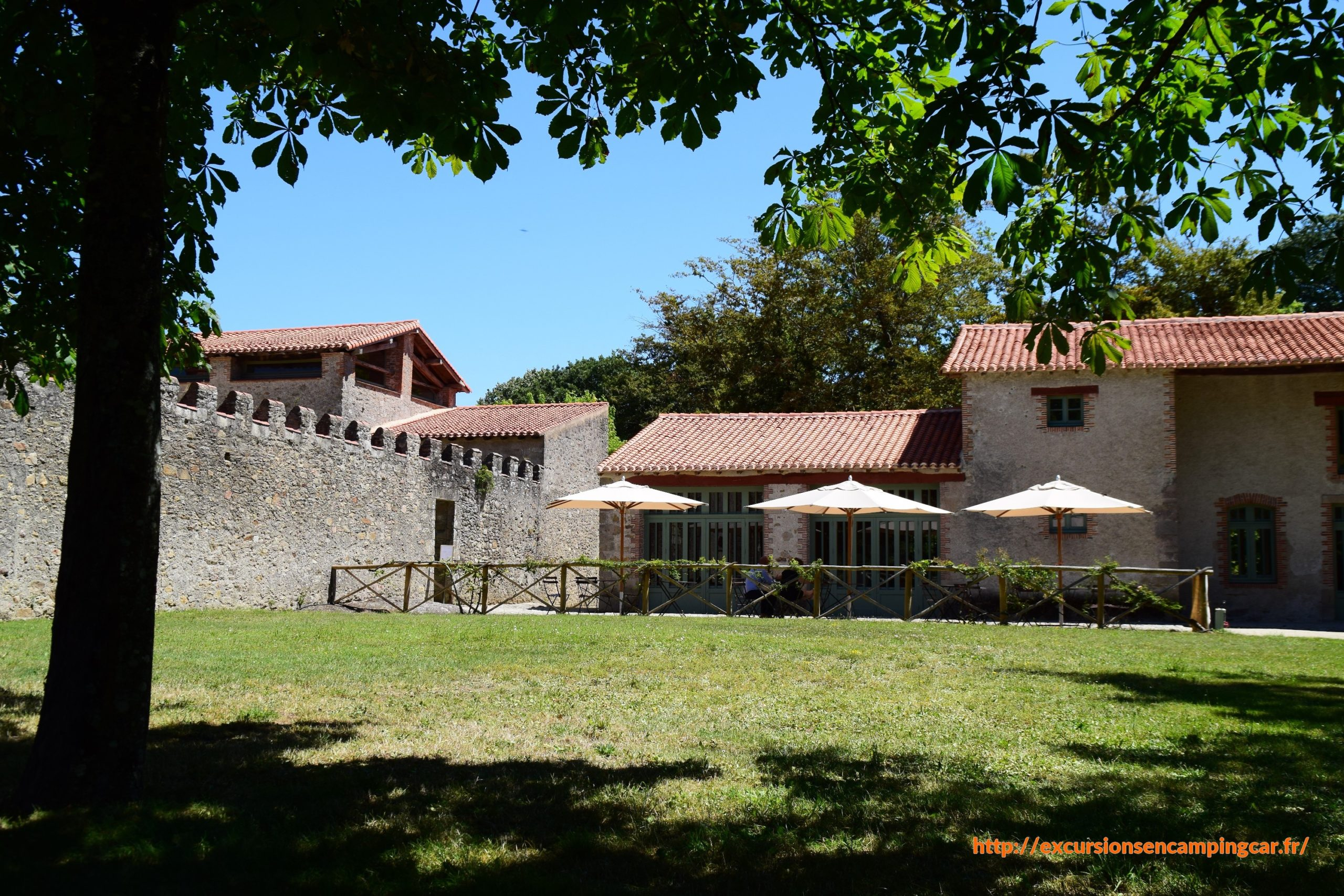 Clisson, Domaine de la Garenne Lemot. La maison du jardinier
